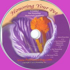 Honoring Your Pet CD