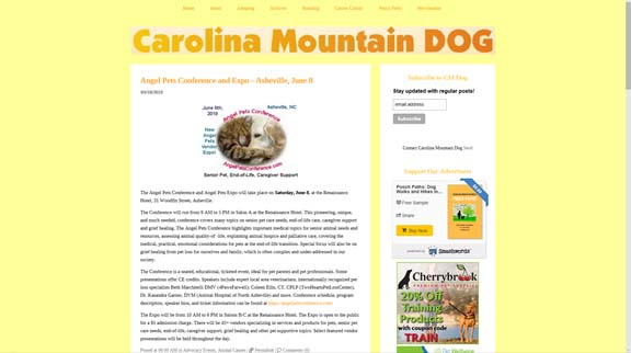 Carolina Mountain Dog copy
