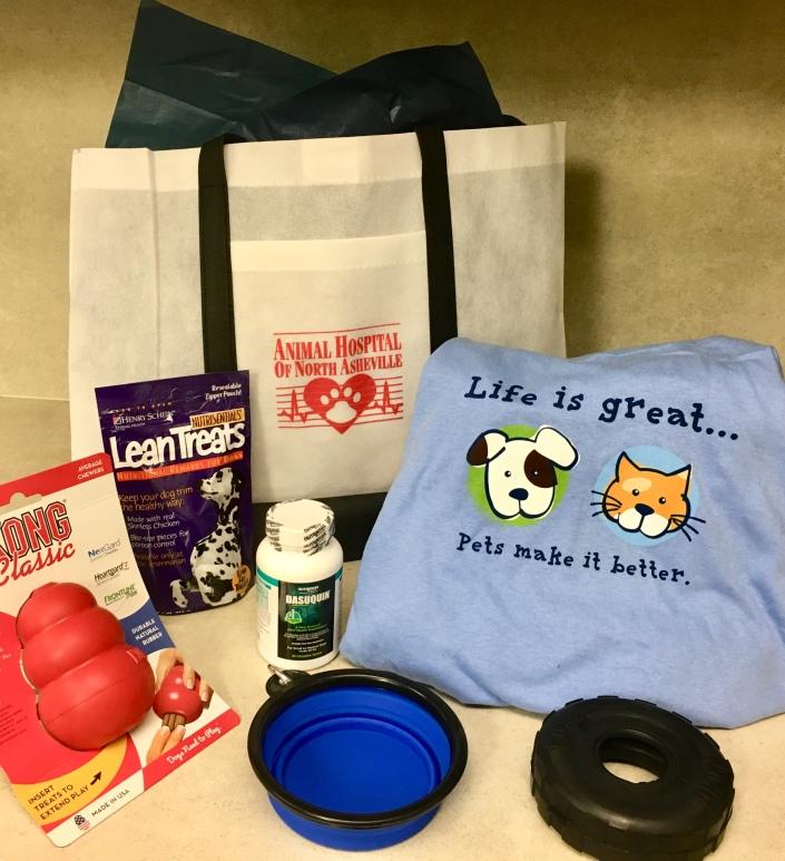 Angel Pets Expo AHNA gift bag