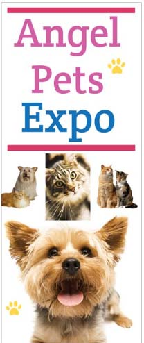 Angel Pets Expo Banner