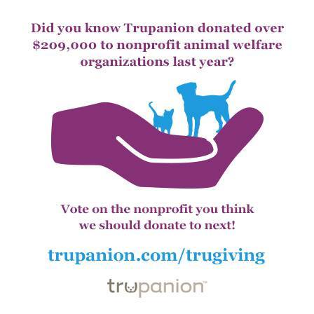 Trupanion donate