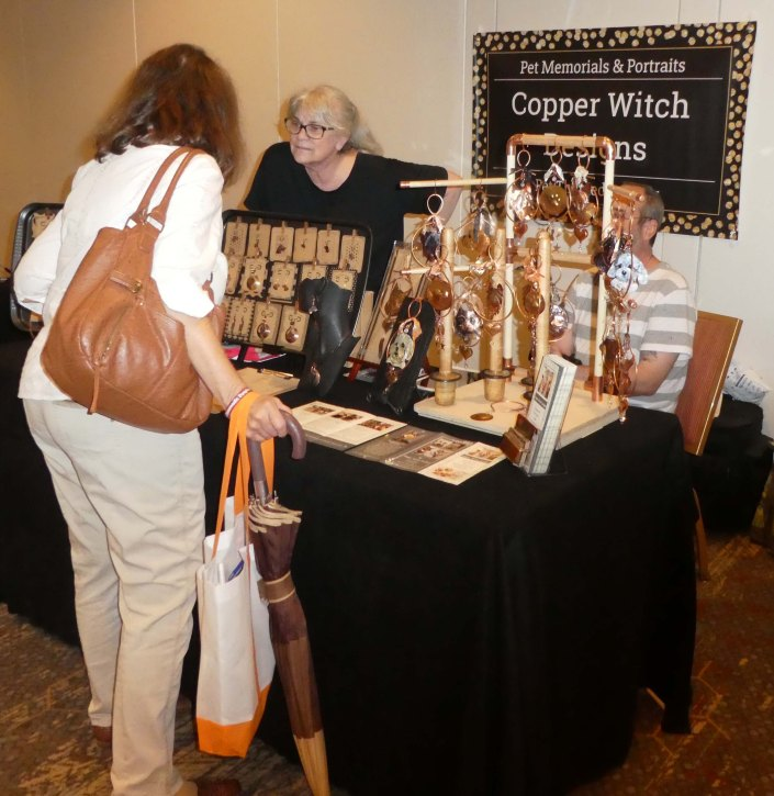 Copper Witch Angel Pets Expo