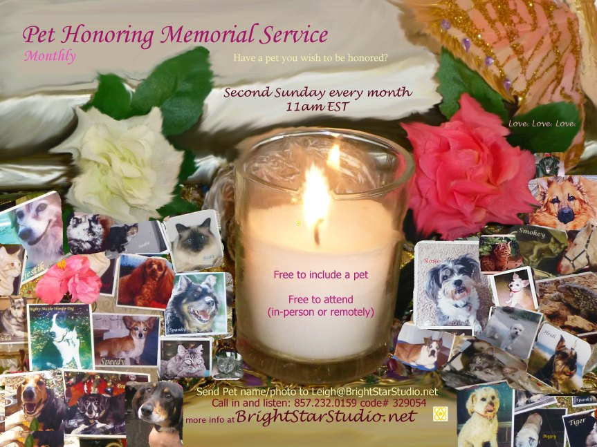 Pet Honoring Memorial Service BEST