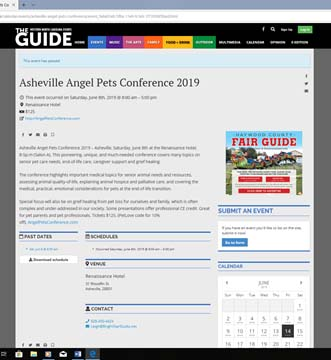 The Guide Angel Pets Conference 2019