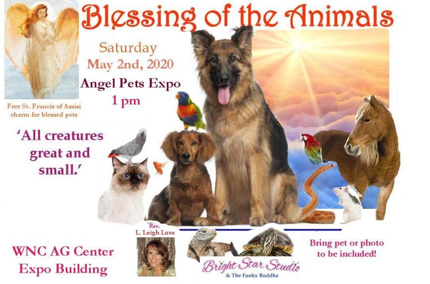 BlessingOfAnimals template Angel Pets Expo 2020